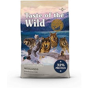 14-Lbs Taste of the Wild Grain-Free Dry Dog Food (Roasted Fowl) $14.75 + Free Shipping w/ Amazon Prime or Orders $25+
