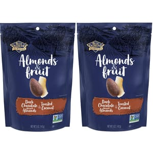 5-Oz Blue Diamond Almonds & Fruit (Dark Chocolate & Toasted Coconut) 2 for $5