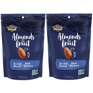 5-Oz Blue Diamond Almonds & Fruit Bag (Sea Salt Almonds & Whole Blueberry) 2 for $4.49 ($2.25 ea) w/ S&S + Free Shipping w/ Prime or on $25+