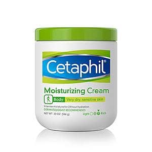 *Back* Prime Members: 20-Oz Cetaphil Moisturizing Cream $6.52 w/ S&S + Free Shipping