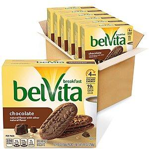 6-Pack 5-Count belVita Breakfast Biscuits (Chocolate) $9.91 w/ S&S + Free Shipping w/ Prime or on $25+