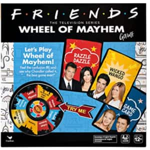 Friends Tv Show Wheel Of Mayhem Game $3.29, Spin Master Office Space Board Game $4.76 & More + FS w/ Walmart+ or FS on $35+