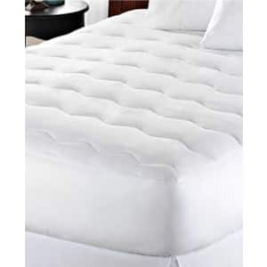 Kathy Ireland Waterproof Mattress Pad: King $22, Queen $17, Twin $12 & More + Free Store Pickup at Macy's or FS on $25+