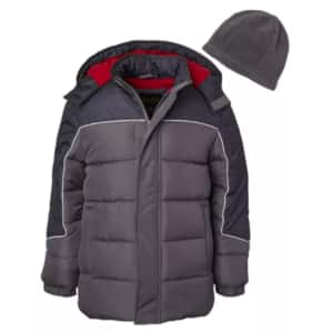 Boys' & Girls'  Puffer Coats & Jackets (various styles & colors) $16 + Free Store Pickup at Macy's or FS on $25+