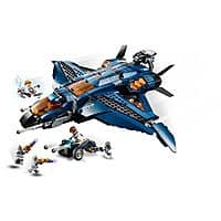 838-Piece LEGO Marvel Avengers Ultimate Quinjet Building Kit (76126) $60 + Free Shipping