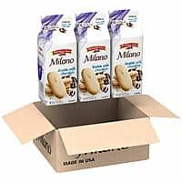 3-Count 7.5-Oz Pepperidge Farm Milano Cookies (Double Milk Chocolate) $6.95 w/ S&S + Free Shipping w/ Prime or on $25+