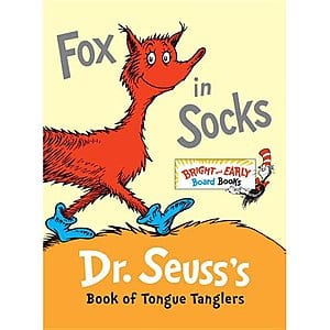 Dr. Seuss's Bright & Early Board Books: Fox in Socks $3 & More