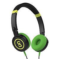 Skullcandy® 2xl Shakedown Wired On-Ear Headphones, Black/Fluorescent Green, X5SHHZ-683 - $  5