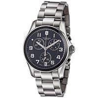 Victorinox Swiss Army 241544 Men's Chronograph Classic Black Dial Bracelet Watch $  169 Shipped @ Shnoop