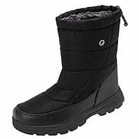 55% off Women and Men Fur Lined Winter Snow Boots $13.49 @amazon