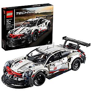 1580-Piece LEGO Technic Porsche 911 RSR Race Car Building Set $119.95