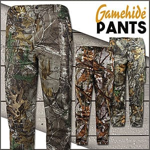 Gamehide Hunting Pants (various styles) $20 + Free Shipping