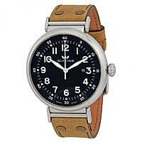 GLYCINE F104 Black Dial Automatic Men's Watch, Brown Leather Strap, $  299 After Coupon