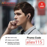 Coupon AliExpress - New social Media users.  $4