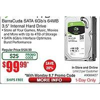 "4TB Seagate Barracuda 3.5"" Hard Drive Boxed $  100"