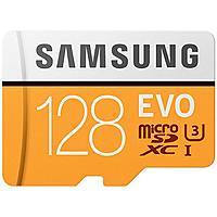 128GB Samsung EVO UHS-I/U3 microSD XC Memory Card with SD Adapter $  48AC