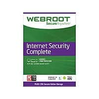 Webroot Internet Security Complete + Antivirus 2017 - 5 Devices 1 Year Subscription - Download $  15AC
