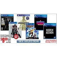 Bloodborne, Uncharted:Collection the Nathan Drake Collection PS4 $  10 @Frys