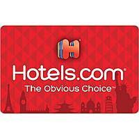 $50 Hotels.com Gift Card (email Delivery) $40@Newegg