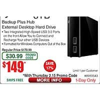 8TB  Seagate Backup Plus Hub Hard Drive $  149AC @Frys (12/15)
