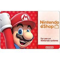 Nintendo eShop $  50 Gift Cards - (Email Delivery) $  45 AC@Newegg