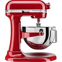KitchenAid Professional 5 Plus Series Stand Mixer (Red | Onyx) $200 @BestBuy