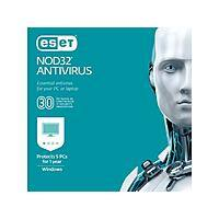 ESET NOD32 Antivirus 2019 (5 PCs/1-Year Product Key Card) $15 @Newegg