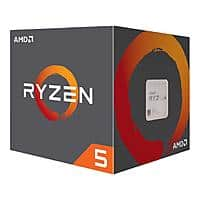 AMD Ryzen 5 2600 Processor with Wraith Stealth Cooler $120 AC @Newegg