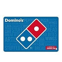 Domino's $20 + $5 Gift Card (Email Delivery)  $20 @Newegg