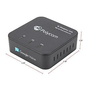 Polycom OBi200 1-Port VoIP Google Voice Digital Internet Telephone Adapter $40 + Free Shipping