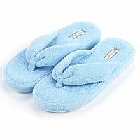 KushyShoo Women's Bowknot Plush House Slippers Anti-Slip Shoes $6.49