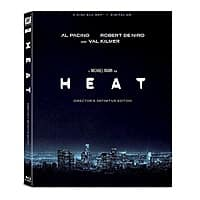 Heat: Remastered Director's Definitive Ed. (Blu-ray + Digital HD)  $6 w/ Free Store Pickup