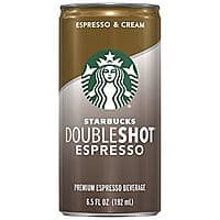 12-Ct 6.5oz Starbucks Doubleshot Beverages (Espresso & Cream)  $10.49