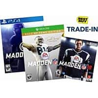 Best Buy Stores: Trade-In Madden 18 Toward Madden 19, Receive  $10 Coupon + Trade-In Value (Best Buy GC)