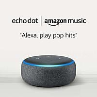 Echo Dot (3rd Gen) for $0.99 and 1 month of Amazon Music Unlimited with Auto-renewal $9