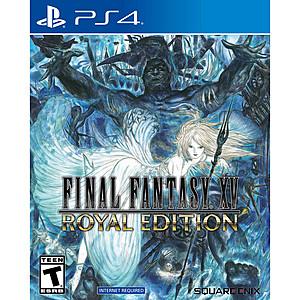 Final Fantasy XV Royal Edition (PS4) $9.88 + FS w/ Walmart+ or $35+ Order @ Walmart