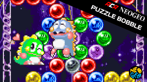 Nintendo Switch eShop digital download Neo Geo Puzzle Bobble $3.99 (50% off)
