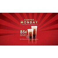 85 Degrees Bakery Coffee Deal in California Stores (YMMV)