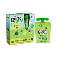 48-Count 3.2-Oz GoGo squeeZ Applesauce on the Go (Apple Pear) $14.90 w/ S&S + Free S&H
