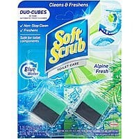Soft Scrub In-Tank Toilet Cleaner Duo-Cubes, Alpine Fresh, 2 Count - $1.00 at Amazon + FS with Prime (or less with subscribe and save)
