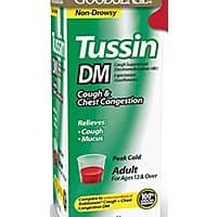 GoodSense Tussin DM Cough Suppressant and Expectorant (8-oz) - $2.36 AC and 15% Subscribe and Save at Amazon