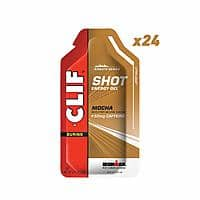 [24 count] CLIF SHOT Energy Gels Mocha w/ 50mg Caffeine (1.2 Ounce Packet, 24 Count) - $6.00 at Amazon + FS with Prime