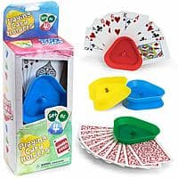 Brybelly Triangle Shaped Hands-Free Playing Card Holder - $3.60 at Amazon + FS with Prime