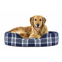 Furhaven Pet Dog Bed | Round Oval Cuddler Nest Lounger Pet Bed for Dogs & Cats - Available in Multiple Colors & Styles - $20.34 at Amazon + FS with Prime