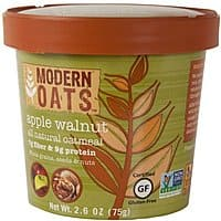 Modern Oats Apple Walnut Oatmeal, 2.6 Ounce (Pack of 12)- $10.89 at Amazon + FS with Prime (or less w/ subscribe and save)