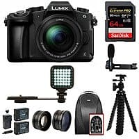 Panasonic Lumix G85 kit + bundle Cameras $640 start @Rakuten sold by Focus Camera