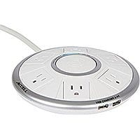 Accell Powramid Air Power Center 6-Outlet Surge Protector and 2-port USB Charging Station $  18 Amazon