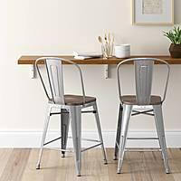 "Target (YMMV): Carlisle 24"" Counter Chair $  19.48"
