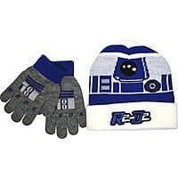 Star Wars R2-D2 Stocking Cap and Gloves $  1.99 at Best Buy