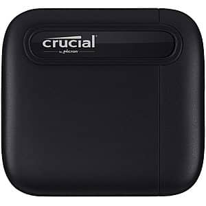 Crucial X6 2TB Portable SSD – Up to 540MB/s $142.49 For Prime members or $149.99